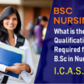 What is the qualification required for B.Sc. in nursing?